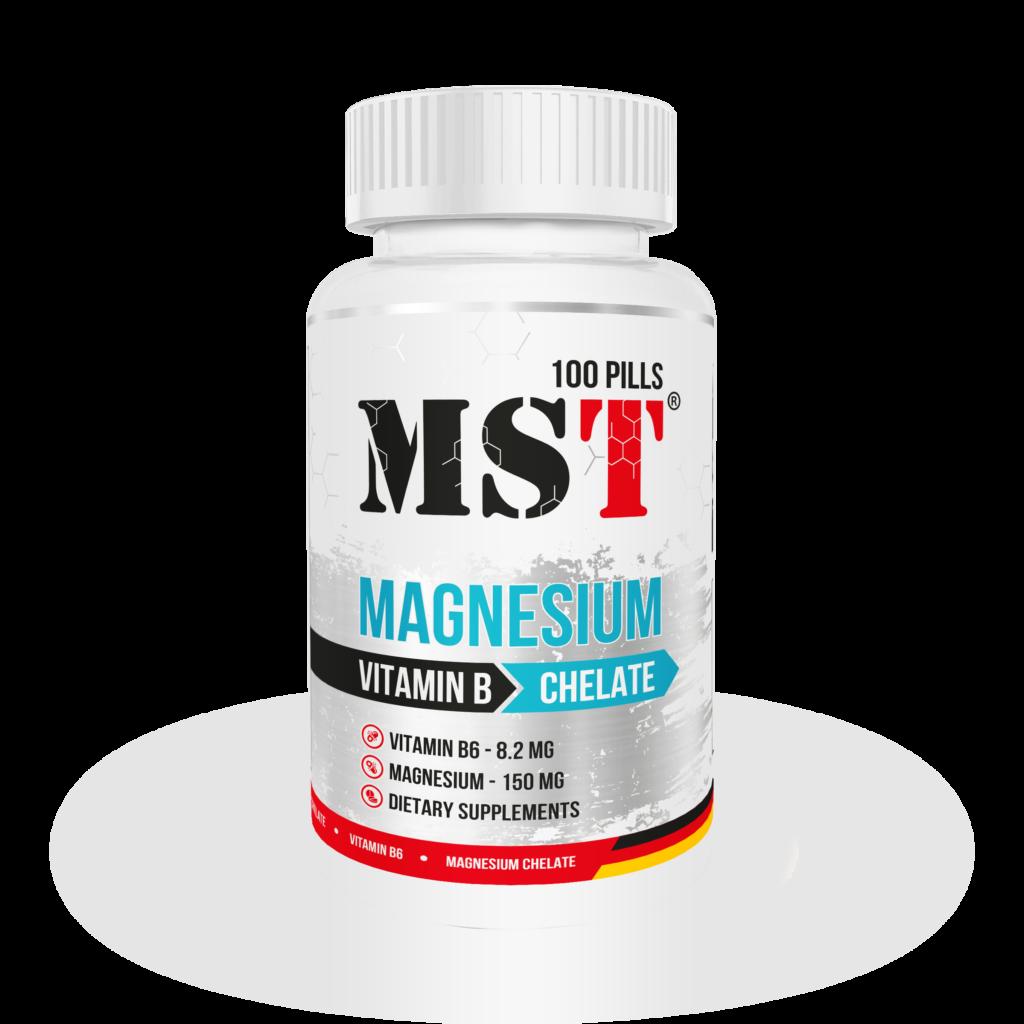 MAGNESIUM B6 MST